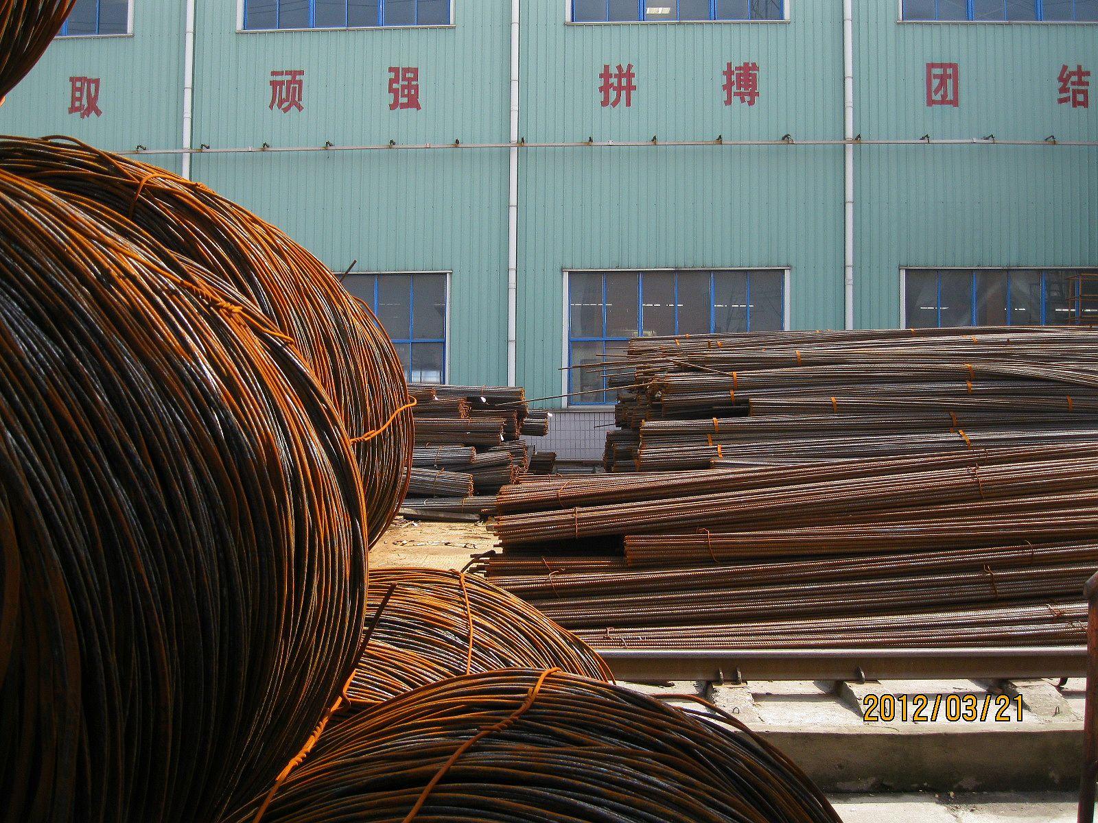 上海地区/A仓库:螺纹的量本周减少了,减少的量大概有450吨左右。