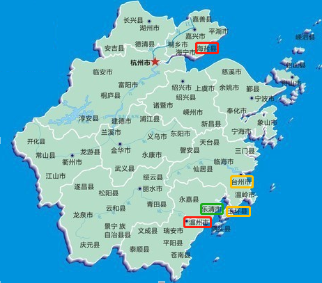 浙江地�_图二:浙江地图